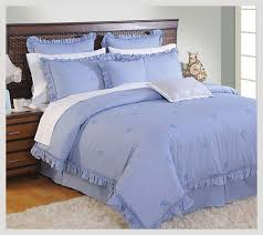 Bed Sheet From Indo Counts Embroidered Mini Ruffle From Indo Count