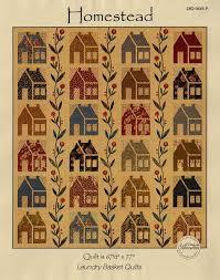 Homestead House Quilt pattern by Edyta Sitar, Laundry Basket Quilts & Laundry Basket Quilts: Homestead Quilt Pattern by Edyta Sitar Adamdwight.com
