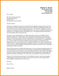 Cover Letter Template For Teaching Job Sample Academics Position Resume