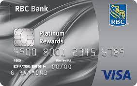 visa platinum u s credit card rbc bank