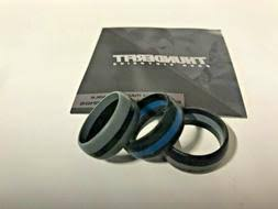 Thunderfit Silicone Rings Blue Line 3 Pa