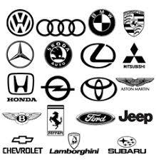 lamborghini logo vector. black white car logos vector lamborghini logo