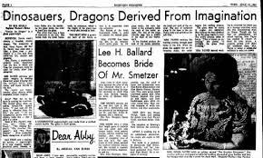 Nona Johnson Payne dragon article - Newspapers.com