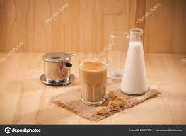 milk bottle milk glass wooden table healthy eating concept stock photo