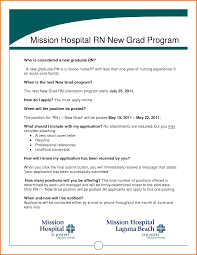 Graduate Registered Nurse Resume Sample Bongdaao Com