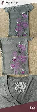 Mac Tools Apparel Mac Tools Apparel T Shirt Black Roses Macs And Heather Grey