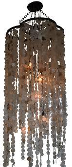 capiz shell lighting fixtures. 5391 mb9 st h ba capiz shell chandelier 9 light jellyfish transitional fixture lighting fixtures