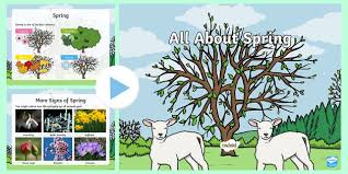 Spring Powerpoint Ks1 All About Spring Powerpoint
