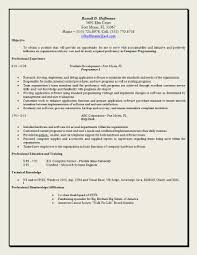 Good Objective Statements For Resume Berathen Com