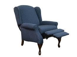 queen anne recliners wing back recliners queen recliner queen anne chair slipcovers