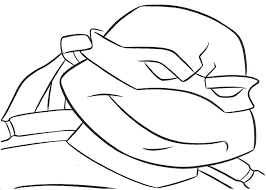 Small Picture Mutant Ninja Turtles Coloring Page Free Download