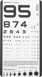 Where To Buy Pocket Charts Rosenbaum Pocket Vision Screening Card