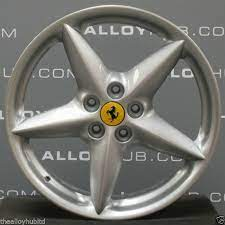 Genuine Ferrari 360 Bbs Modena Spider 5 Star Spoke 18inch Alloy Wheels X4 Oem For Sale Online Ebay