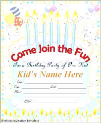 Birthday Invitation Maker Free Birthday Invitation Maker Free
