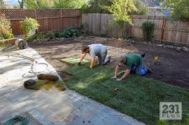 Diy Sod 231 Designs Going Green Prepping For And Installing Sod