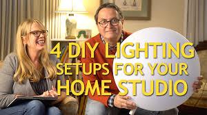Diy Video Lighting Home Depot Diy Lighting Set Ups For Your Home Studio The Slanted Lens