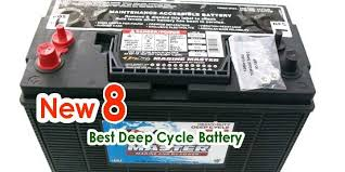 Deep Cycle Marine Battery Group Size Chart 8 New Best Deep Cycle Battery In 2019 Reviews And Top