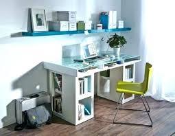 glass desk with storage glass desk shelf glass desk with shelves home office or craft centre glass desk with storage
