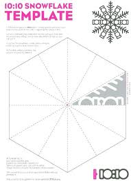 Free Printable Snowflake Templates Coloring Pages Snowflakes Free