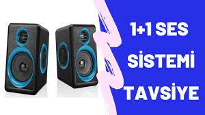 Havana FT-165 2.0 Speaker Extra Bass Hoparlör Ses Sistemi 1+1 - Mavi -  YouTube