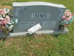 Johnnie Loyd Sims (1925-2016) - Find A Grave Memorial