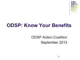 Odsp Rate Chart 2018 Ontario Disability Support Program Odsp Know Your Benefits