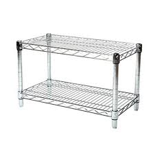 attractive rack shelf chrome wire shelving the 2 unit philippine 19 lowe warehouse canada