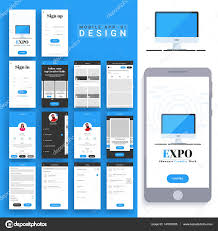 Material Design Stock Images Material Design Ui Ux For Mobile Apps Stock Vector