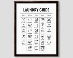 Laundry Symbols Laundry Symbol Chart Laundry Room Ideas Laundry Printables Laundry Prints Laundry Chart Washing Machine Symbols Home