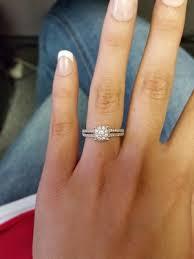 engagement ring inside wedding band. photo courtesy of alison biggins harvey engagement ring inside wedding band u
