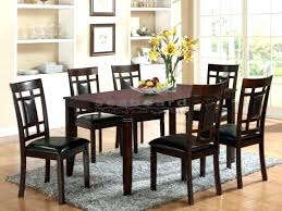 black dining room table set black 7 piece dining set newest 7 piece black dining room