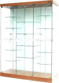display cabinets with glass doors wood and glass display cabinet glass display case cabinet small wooden