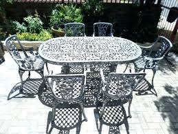 white cast aluminum patio furniture touch up paint photo 7 painting care pat how to paint a lamp post painting cast aluminum aluminium garden furniture