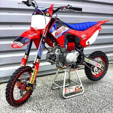 pitsterpro lxr150rr lucas oil crf110 red 4529 pit bike parts and