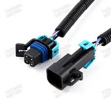 2x gm black square 4 pin ls1 24\