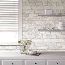 faux kitchen tile wallpaper. create an elegant statement with a white brick wall faux kitchen tile wallpaper e