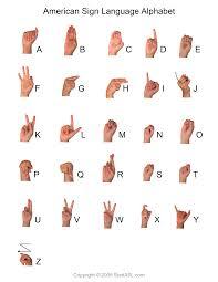 Basic Baby Sign Language Chart