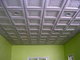 image of drop ceiling tiles