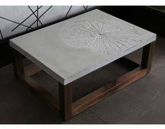 concrete and wood furniture. Andre Joyau Cement Coffee Table Home Decoration Furniture Minimalist Stained Varnished Rectangle Square Wooden Concrete And Wood