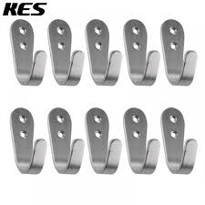 kes sus 304 stainless steel garage storage organizer hook bathroom toilet single robe towel coat hook