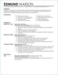 Maintenance Technician Resume Awesome Maintenance Technician Resume