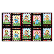 Quilting Treasures Mary's Fairies Patches 24