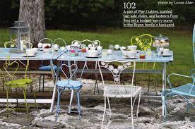 space saving outdoor dining furniture