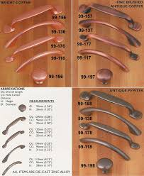 brushed copper cabinet pulls. siro designs penny savers cabinet pulls - copper brushed 3