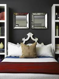 Small Master Bedroom With Storage Warm Paint Accent Wall Colors Of Small Master Bedroom Design With