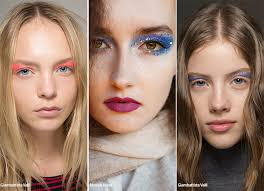 spring summer 2016 makeup trends glittering eye makeup