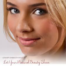 dinair airbrush makeup lets your own natural beauty shine dina show us