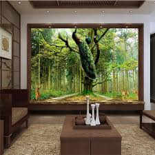 office backdrops. Home Decor Photo Backdrops Wallpaper For Living Room Peacock Tree Deer Office Bathroom Hotel Wall Mural Murals 3d Paper-in Wallpapers From