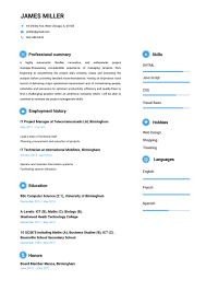 My Resume Builder Free Graduate Financial Advisor Cv Build Sample