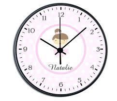 nursery wall clock personalised clocks baby personalized kids australia . nursery  wall clock ...